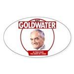 Goldwater Reproduction Oval Sticker