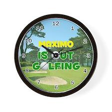 I Love Maximo Forever - Wall Clock