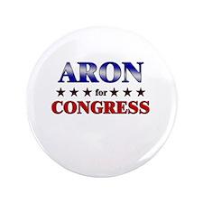 """ARON for congress 3.5"""" Button"""