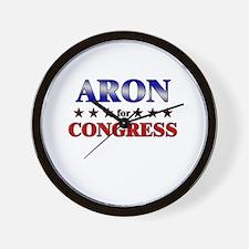 ARON for congress Wall Clock