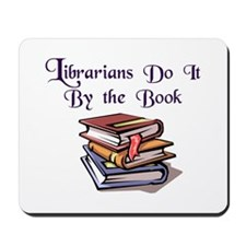 """Do It By the Book"" Mousepad"