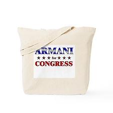 ARMANI for congress Tote Bag
