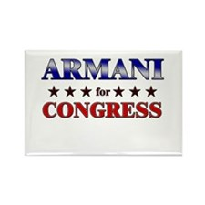 ARMANI for congress Rectangle Magnet