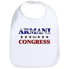 ARMANI for congress Bib
