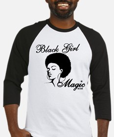 Black Girl Magic Baseball Jersey