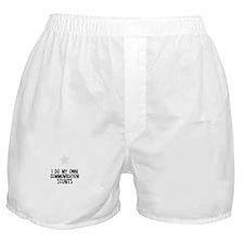 I Do My Own Communication Stu Boxer Shorts