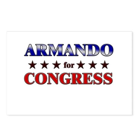 ARMANDO for congress Postcards (Package of 8)