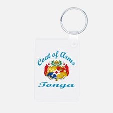 Coat of Arms Tonga Keychains