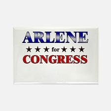 ARLENE for congress Rectangle Magnet