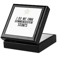 I Do My Own Communication Stu Keepsake Box