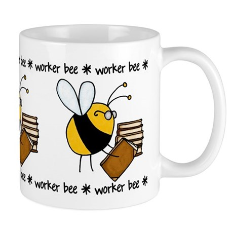 librarian/archivist/book seller Mug
