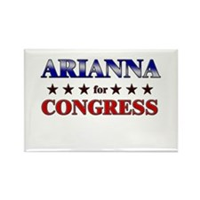 ARIANNA for congress Rectangle Magnet