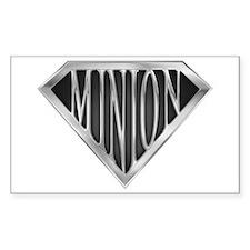 SuperMinion(metal) Rectangle Decal