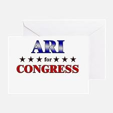 ARI for congress Greeting Card