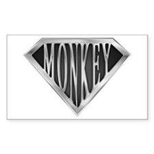 SuperMonkey(metal) Rectangle Decal