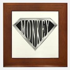 SuperMonkey(metal) Framed Tile