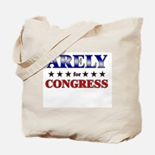 ARELY for congress Tote Bag