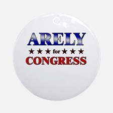 ARELY for congress Ornament (Round)