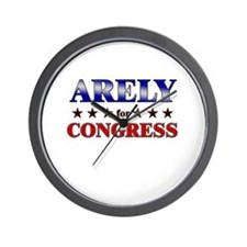 ARELY for congress Wall Clock