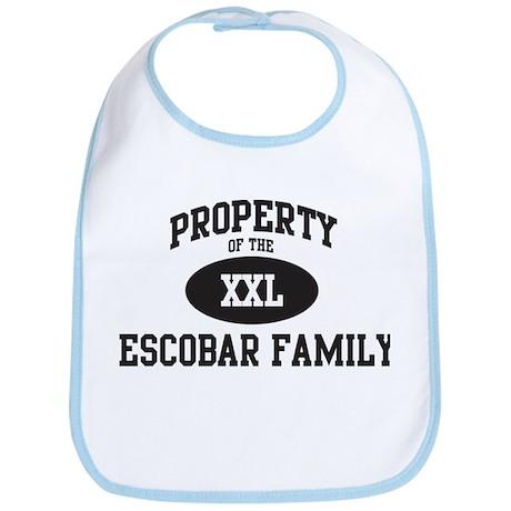 Property of Escobar Family Bib