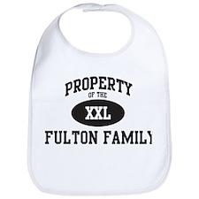 Property of Fulton Family Bib
