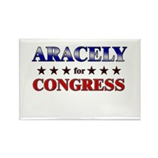 ARACELY for congress Rectangle Magnet