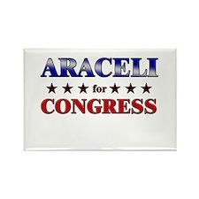 ARACELI for congress Rectangle Magnet