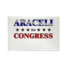 ARACELI for congress Rectangle Magnet (10 pack)