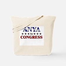 ANYA for congress Tote Bag