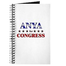 ANYA for congress Journal