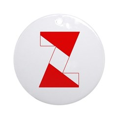 http://i3.cpcache.com/product/189254335/scuba_flag_letter_z_ornament_round.jpg?height=240&width=240