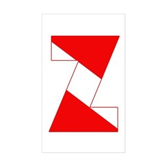 http://i3.cpcache.com/product/189254345/scuba_flag_letter_z_rectangle_decal.jpg?color=White&height=240&width=240