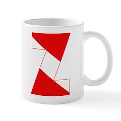 http://i3.cpcache.com/product/189254369/scuba_flag_letter_z_mug.jpg?side=Back&color=White&height=240&width=240