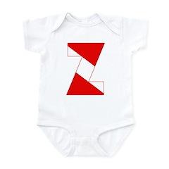 http://i3.cpcache.com/product/189254388/scuba_flag_letter_z_infant_bodysuit.jpg?color=CloudWhite&height=240&width=240