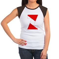http://i3.cpcache.com/product/189254406/scuba_flag_letter_z_womens_cap_sleeve_tshirt.jpg?color=BlackWhite&height=240&width=240