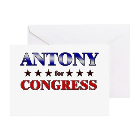 ANTONY for congress Greeting Cards (Pk of 20)
