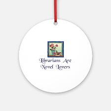"""Novel Lovers"" Ornament (Round)"