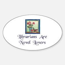 """Novel Lovers"" Decal"