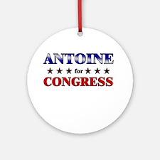 ANTOINE for congress Ornament (Round)