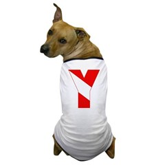http://i3.cpcache.com/product/189257440/scuba_flag_letter_y_dog_tshirt.jpg?color=White&height=240&width=240