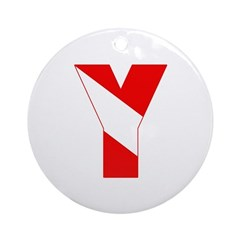 http://i3.cpcache.com/product/189257446/scuba_flag_letter_y_ornament_round.jpg?height=240&width=240