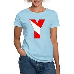 http://i3.cpcache.com/product/189257480/scuba_flag_letter_y_tshirt.jpg?color=LightBlue&height=240&width=240