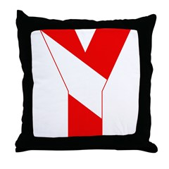 http://i3.cpcache.com/product/189257492/scuba_flag_letter_y_throw_pillow.jpg?height=240&width=240