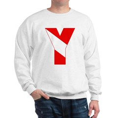 http://i3.cpcache.com/product/189257509/scuba_flag_letter_y_sweatshirt.jpg?color=White&height=240&width=240