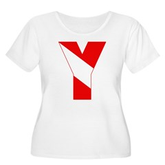 http://i3.cpcache.com/product/189257517/scuba_flag_letter_y_tshirt.jpg?color=White&height=240&width=240