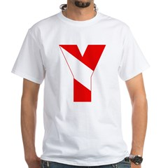 http://i3.cpcache.com/product/189257525/scuba_flag_letter_y_shirt.jpg?color=White&height=240&width=240