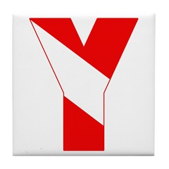 http://i3.cpcache.com/product/189257529/scuba_flag_letter_y_tile_coaster.jpg?height=240&width=240