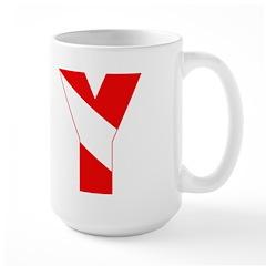 http://i3.cpcache.com/product/189257532/scuba_flag_letter_y_mug.jpg?height=240&width=240