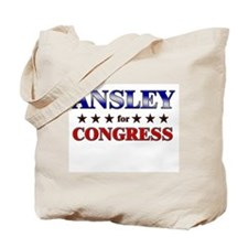 ANSLEY for congress Tote Bag