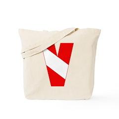 http://i3.cpcache.com/product/189263316/scuba_flag_letter_v_tote_bag.jpg?color=Khaki&height=240&width=240